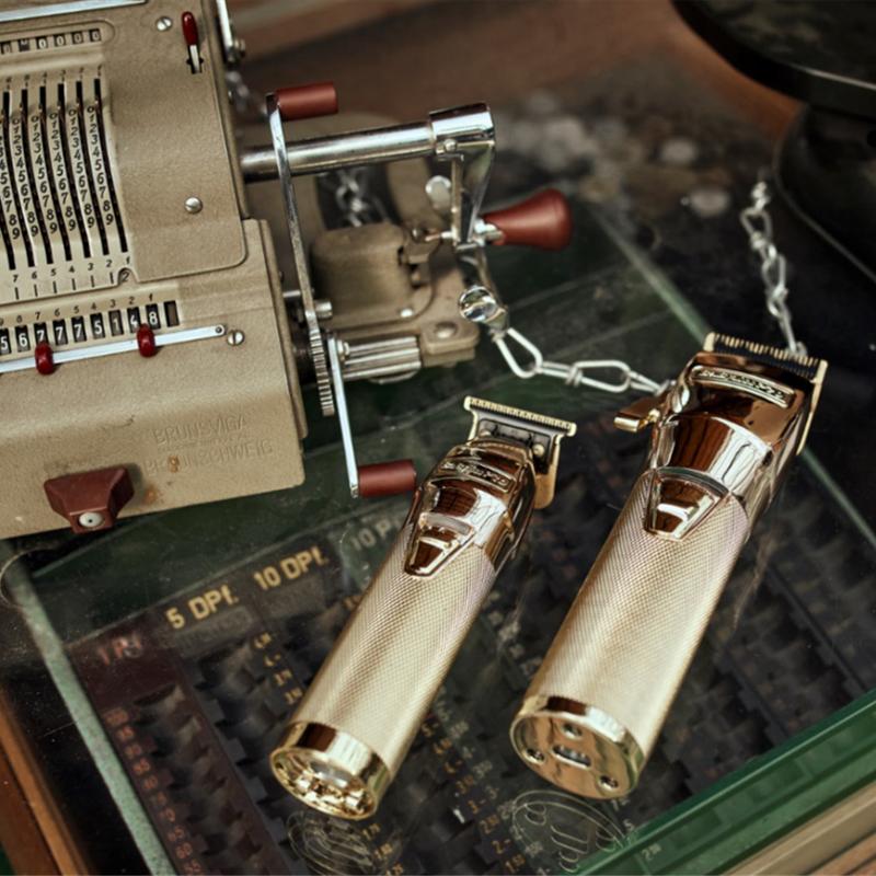 BaByliss PRO FX7870GE SkeletonFX Gold Profesionálny strihač vlasov