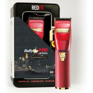 FX8700RE Profesionálny zastrihávač vlasov Red