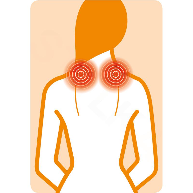 Medisana NM 880 Shiatsu masážny prístroj pre masáž šije