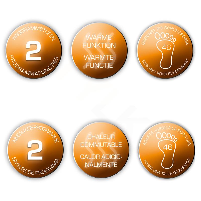 Ecomed 23100 Perličkový kúpeľ na nohy