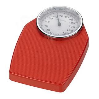 PS 100 Analógová osobná váha - červená