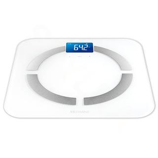 Medisana BS 430 Digitálna váha prepojiteľná so smartphonom biela