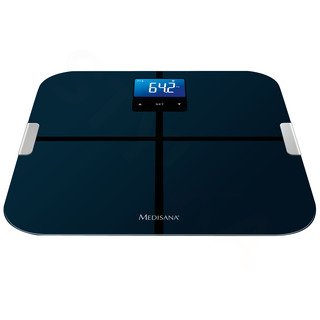 Medisana BS 440 Digitálna váha prepojiteľná so smartphonom čierna