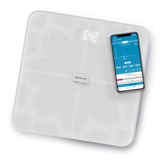 Medisana BS 450 Digitálna váha prepojiteľná so smartphonom biela