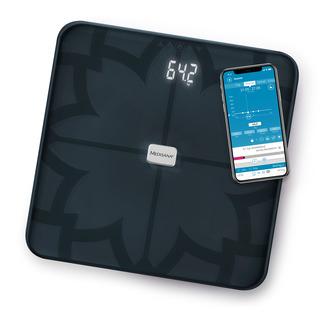 Medisana BS 450 Digitálna váha prepojiteľná so smartphonom čierna