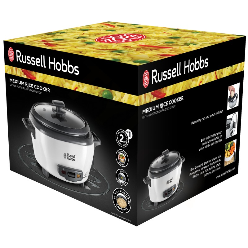 Russell Hobbs 27030-56 Stredná ryžovar a parný hrniec