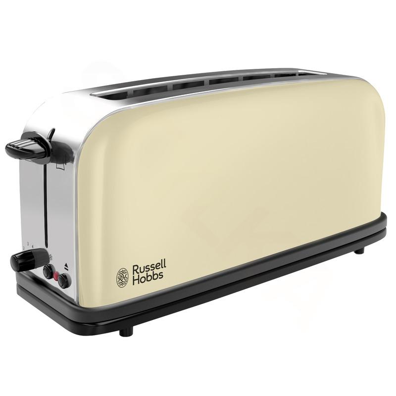 Russell Hobbs 21395-56 Classic Cream hriankovač s dlhou priehradkou