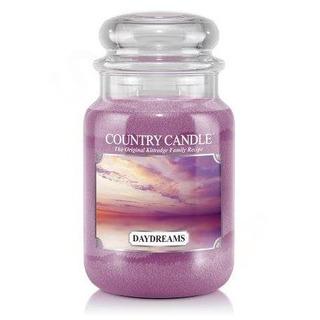 Country Candle Veľká vonná sviečka v skle Daydreams 652g