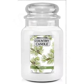 Country Candle Veľká vonná sviečka v skle Fraser Fir 652g