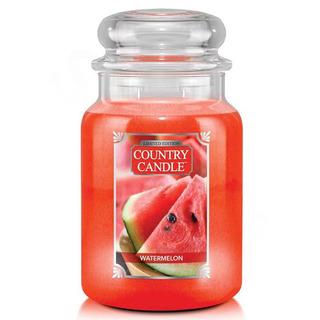 Country Candle Veľká vonná sviečka v skle Watermelon 652g