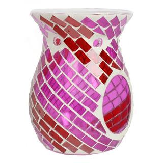 Village Candle Aromalampa Red & amp; Purple