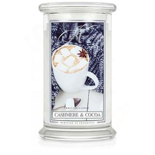 Veľká vonná sviečka v skle Cashmere and Cocoa 624g