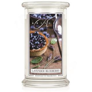 Veľká vonná sviečka v skle Lavender Blueberry 624g