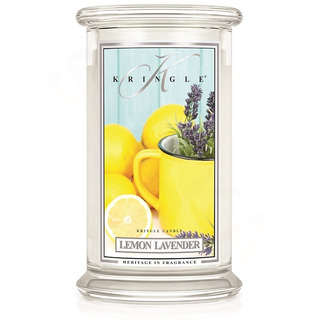 Veľká vonná sviečka v skle Lemon Lavender 624g