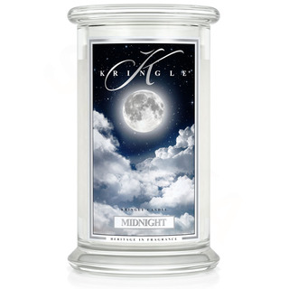 Kringle Candle  Veľká vonná sviečka v skle Midnight 624g