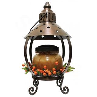 Cheerful Giver Medená lampáš na sviečku - hviezda