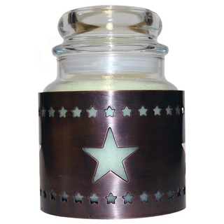Cheerful Giver Medený stojan na sviečku - hviezda