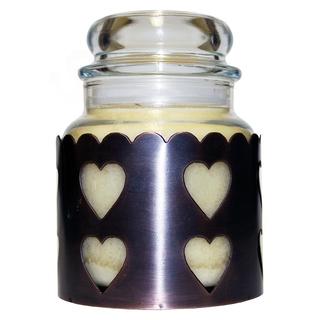 Cheerful Giver Medený stojan na sviečku - srdce