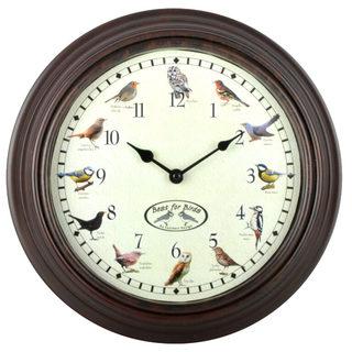 Ostatní Nástenné hodiny s vtáčím spevom