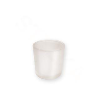 Price's Candle Sklenený svietnik na votívny sviečku - mliečny