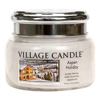 Malá vonná sviečka v skle Aspen Holiday 262g - Sviatočné Aspen