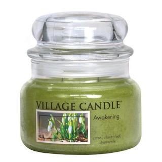 Village Candle Stredná vonná sviečka v skle Awakening 262g - Jarni prebudenie