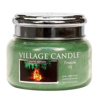 Malá vonná sviečka v skle Fireside Fir 262g - Táborák z jedlí