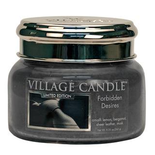 Village Candle Malá vonná sviečka v skle Forbidden Desires 262g