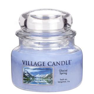 Village Candle Malá vonná sviečka v skle Ľadovcový vánok 262g - Glacial Spring