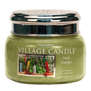 Village Candle Malá vonná sviečka v skle Herb Garden 262g