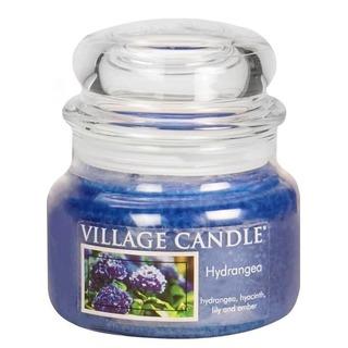 Village Candle Malá vonná sviečka v skle Hydrangea 262g - Hortenzie