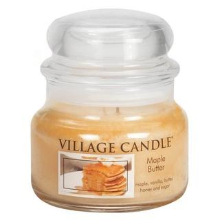 Village Candle Malá vonná sviečka v skle Maple Butter 262g - Javorový sirup