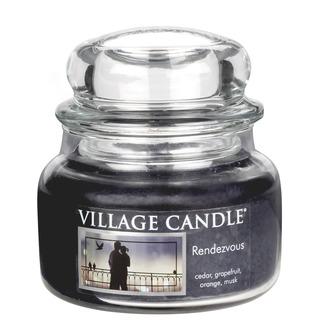 Village Candle Malá vonná sviečka v skle Rendezvous 262g - Rande