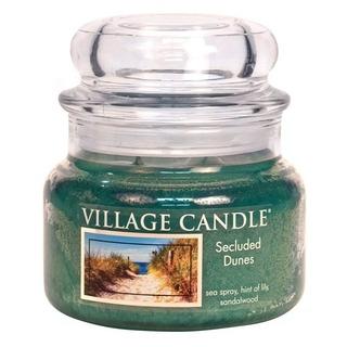 Village Candle Malá vonná sviečka v skle secluded Dunes 262g - Piesočné duny