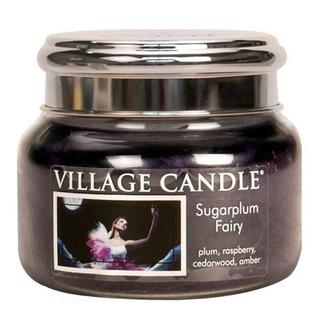 Village Candle Malá vonná sviečka v skle Sugarplum Fairy 262g - Polnočná víla