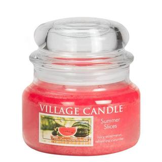 Village Candle Malá vonná sviečka v skle Summer Slices 262g - Letný pohoda