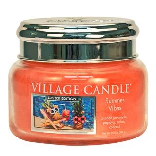 Village Candle Malá vonná sviečka v skle Summer Vibes 262g