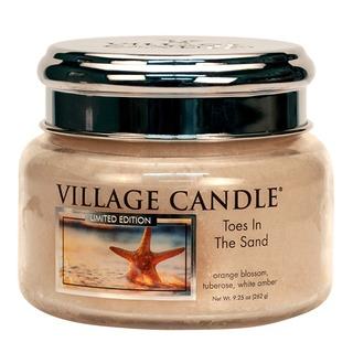 Village Candle Malá vonná sviečka v skle Toes In The Sand 262g