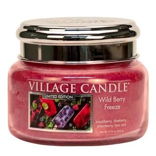 Village Candle Malá vonná sviečka v skle Wild Berry Freeze 262g