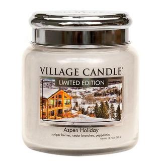 Stredná vonná sviečka v skle Aspen Holiday 397g - Sviatočné Aspen