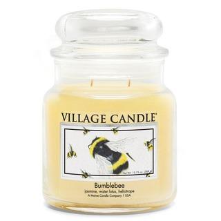 Village Candle Stredná vonná sviečka v skle Bumblebee 397g - Čmelák