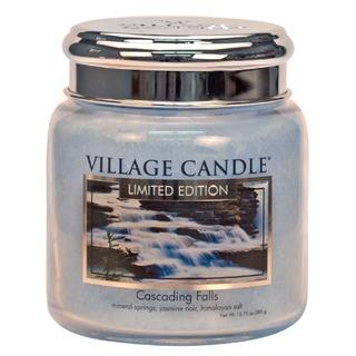 Village Candle Stredná vonná sviečka v skle Cascading Falls 397g