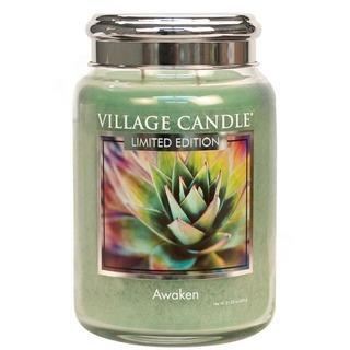 Village Candle Veľká vonná sviečka v skle Awaken 645g