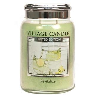 Village Candle Veľká vonná sviečka v skle Revitalize 645g