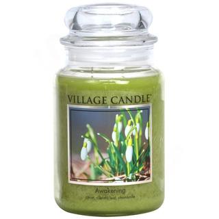 Village Candle Veľká vonná sviečka v skle Awakening 645g - Jarni prebudenie