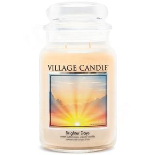 Village Candle Veľká vonná sviečka v skle Brighter Days 645g - Jasnejšie dni