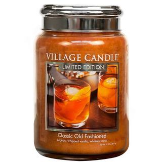 Veľká vonná sviečka v skle Classic Old Fashioned 645g - Osvedčená klasika