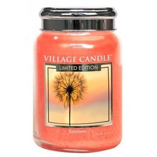 Village Candle Veľká vonná sviečka v skle Empower 645g
