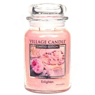 Village Candle Veľká vonná sviečka v skle Enlighten 645g - Povznesenie