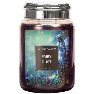 Village Candle Veľká vonná sviečka v skle Fairy Dust 645g - Vilím prach